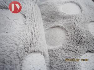 China Clothing Plush Upholstery Fabric Cushion Home Textile PV Plush Fleece 350 Gsm on sale