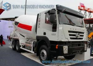 China 12 CBM Ready Mix Truck Iveco Genlyon 380Hp White 480 Litres Water Tank on sale