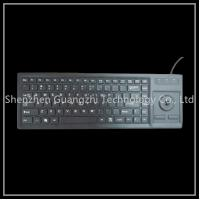China Multifunctional 87 Key Keyboard , Usb Wired Oem Mechanical Keyboard With Touchpad on sale
