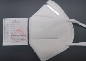 China Anti Bacterial KN95 N95 Face Mask For Air Pollution Melt Blown Cloth Material on sale