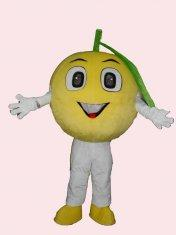 Quality lovely full-body lemon mascot cartoon cosplay fruit costumes of handmade  for sale
