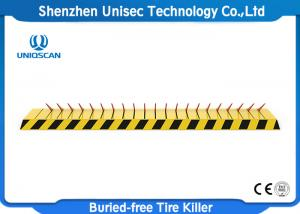 China Manual Iron Speed Hump Driveway Tire Spikes 370mm Tyre Killer IP67 Waterproof on sale