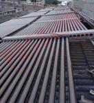50 Pipes Evacuated Tube Solar Collector , Solar Water Heater Solar Thermal Collector