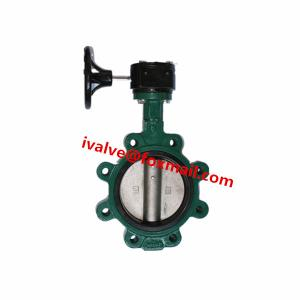 China DN200 Lug Type Gear Operated Butterfly Valve on sale