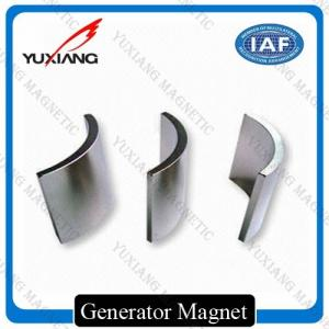China N52 N42 Neodymium Arc Magnets Precise Tolerance For Permanent Machine Magnet on sale