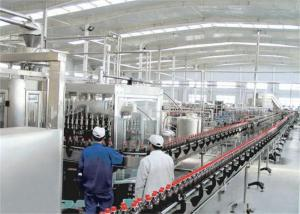 China PET Bottle / Can Carbonated Drinks Machine , Automated Carbonated Beverage Filling Line on sale