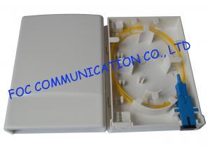 China 2 Port Wall MountFiber Optic Terminal Box Socket Small Multi - Function on sale