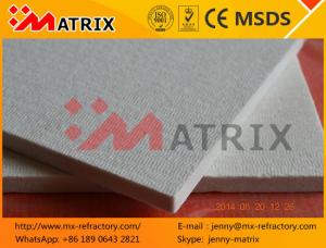 China Furnace and Kiln Heat Insulation low price Ceramic Fiber Board M0627 with Alu  Foil on sale