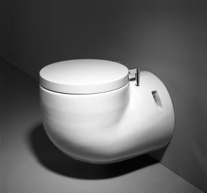 China p-trap 180mm sanitary accessories guangdong round wall hung toilet porcelain toilet bowl Industrial toilet accessories on sale
