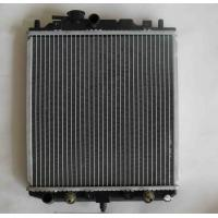 China Copper Tube Aluminum Fin Galvanized Plate Air Conditioner Radiator For Air Handling Unit on sale