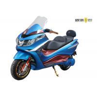 3000W Powerful Motor Racing Electric Motorcycle , Electric Bike Motorcycle LED Headlight