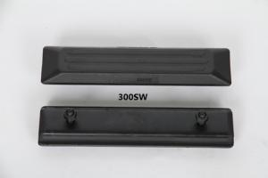 China Black Excavator Bolt On Rubber Track Pads 101-300B Noise Reduction on sale