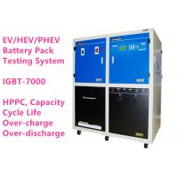High Voltage Lithium Ion Battery Analyzer BTS-7000 Battery Module Pack Cycler Performance Testing System
