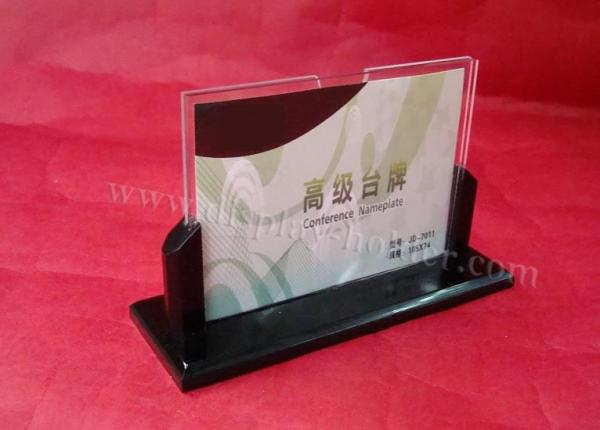 Restaurant Acrylic Table Tent Holders With Logo Printed For Sale - Acrylic table tent holders