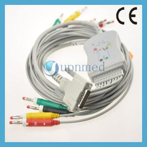 China BIONET One Piece Series EKG Cable With Lesdwires on sale