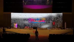 China P3.91 Rental Indoor LED Display Screen , LED Stage Curtain Screen 3840Hz Refresh Rate on sale