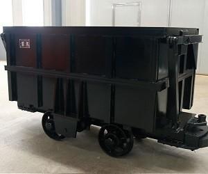 Waste Rocks Underground Mining Equipment Rail Car 1552 * 850