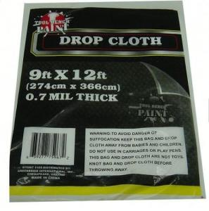 China Drop Cloth Dust Proof 11mic Plastic Car Seat Covers on sale