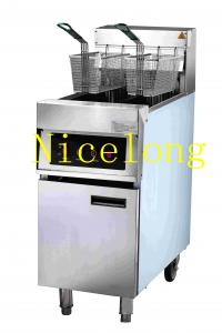 China Computer control double tanks electric deep fryer JZL-JX182 on sale