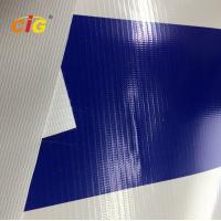 500gsm 100% Pvc Flex Plastic Tarpaulin With Glass Fiber For Truck / Tent