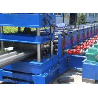 China 3 Waves Highway Profile Steel Roll Forming Machine For Expressway Guard Bars Use 45Kw Motor and Hydraulic Cutting on sale