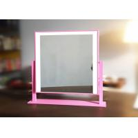 Double color portable vanity mirror with lights / touch switch led makeup lights