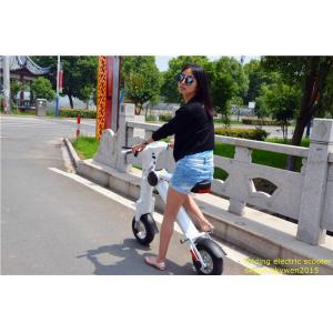 China 座席が付いている48v李の電気自動車のポータブル2の車輪の折り畳み式の電気スクーター on sale