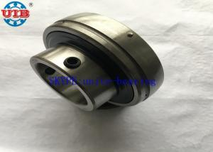 China Chrome Steel Industrial Insert Ball Bearings With P207 FL207 Bearing Housing on sale