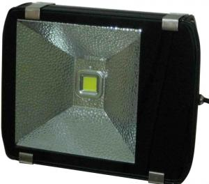 China Die-casting Alu & Glass Outdoor Building 100W Glass High Power Led Flood Lighting 10000 LM on sale