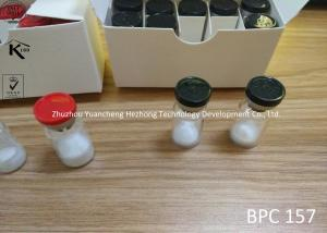China BPC 157 Injectable Steroids Pentadecapeptide Pharmaceutical Peptides Powder 2mg/Vial on sale