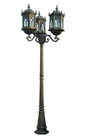 China Casting Lamp Post on sale