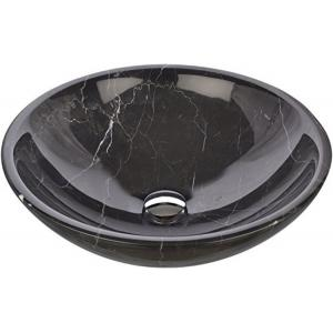 China Good Quality Low price Nero Marquina marble bathroom vanity wash basins on sale on sale