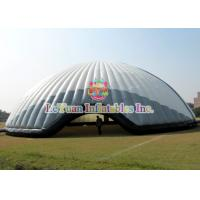 China Flame Retardant 20M Inflatable Air Tent / White Constantly Inflatable Dome Stadium on sale