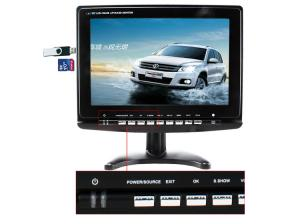 China Custom Touch TFT LCD Monitor Screen DVD Player with Digital Photo Frame for Car on sale