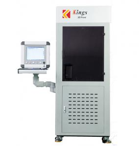 China Industrial Stereolithography High Resolution 3D Printer 0.05mm Layer Thickness on sale