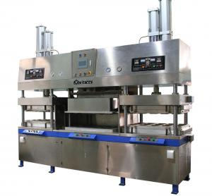 China Disposable Paper Pulp MouldingMachinery Tableware Making  Machine 700~7000pcs/H on sale