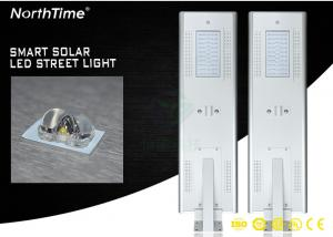 China All In One Solar Street Light With Mono Silicon Solar Panel Smart MPPT Controller on sale