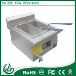 commercial deep fryer induction deep fryer with 5kw