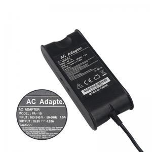 China 3 Prong Outlet Laptop Charger Pin Adapter Lightweight 19.5V 4.62A For DELL Charger on sale