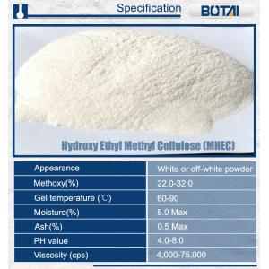 China Top level import grade low ash content thickener agent hemc on sale