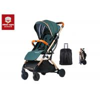 6 Inch TPR Wheels Baby Pushchair Stroller With Extra Large Storage Basket