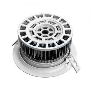 China Aluminum 15W 1380lm LED Ceiling Lighting, Energy Saving Recessed Led Ceiling Lights on sale