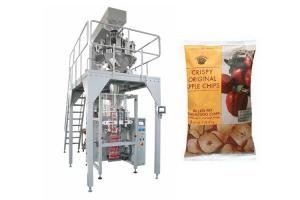China Dry Fruit Apple Chips Multihead Weigher Packing Machine Full Automaitc on sale