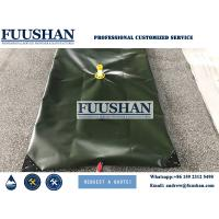 Fuushan Reinforced Collapsible Plastic Pvc Coated Tarpaulin Water Tank