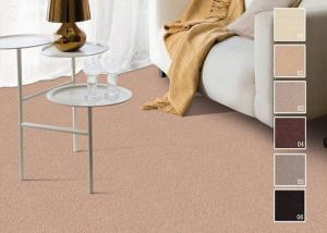 China Soft Wall to Wall Cut Pile Carpet , Fire Proof Stain Resistant Rug on sale