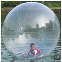 Kids Transparent Inflatable Water Walking Ball , TPU 2m Water Walking Ball