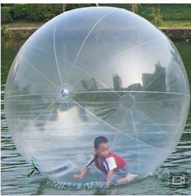 China Kids Transparent Inflatable Water Walking Ball , TPU 2m Water Walking Ball on sale