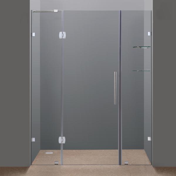 Frameless Frame Style Hinged Glass Door Australian Sliding Shower