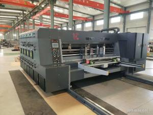 China Computerized 3 Flexo Printer Slotter Die Cutter For Corrugated Carton Printing on sale