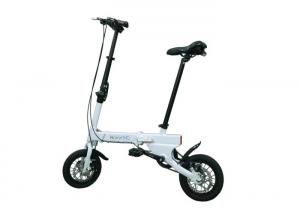 China Easy Carry Lightweight E Bike , 4 Color Electric Mini Bike For Adults on sale